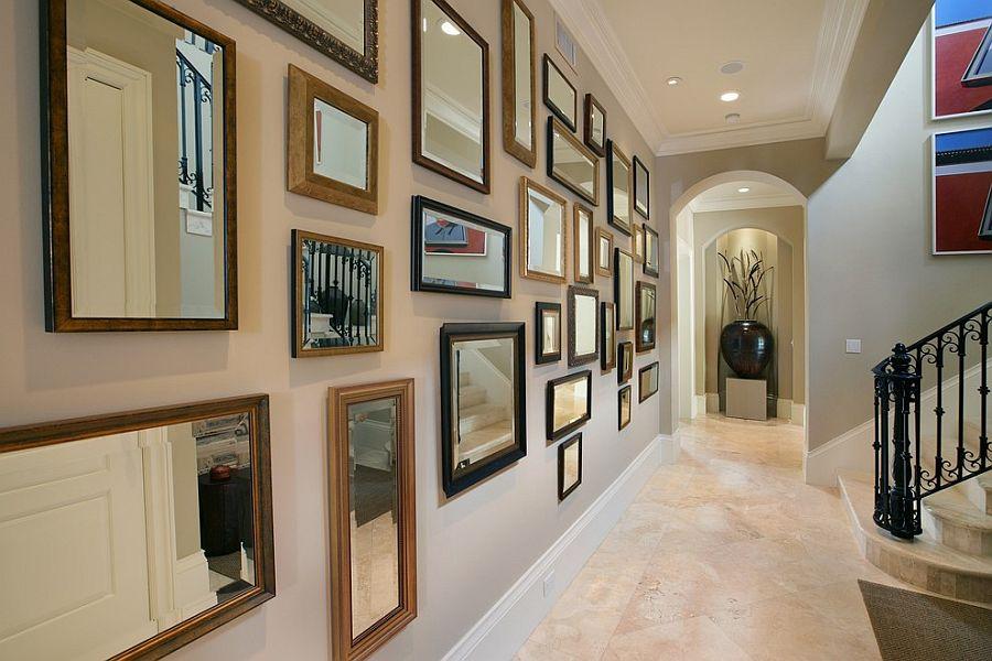 Bố trí gương độc đáo cho không gian nhà bạn