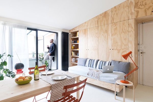 Khám phá cách sắp xếp nội thất cực kì thông minh của căn hộ 28m2 ở Milan - Ý