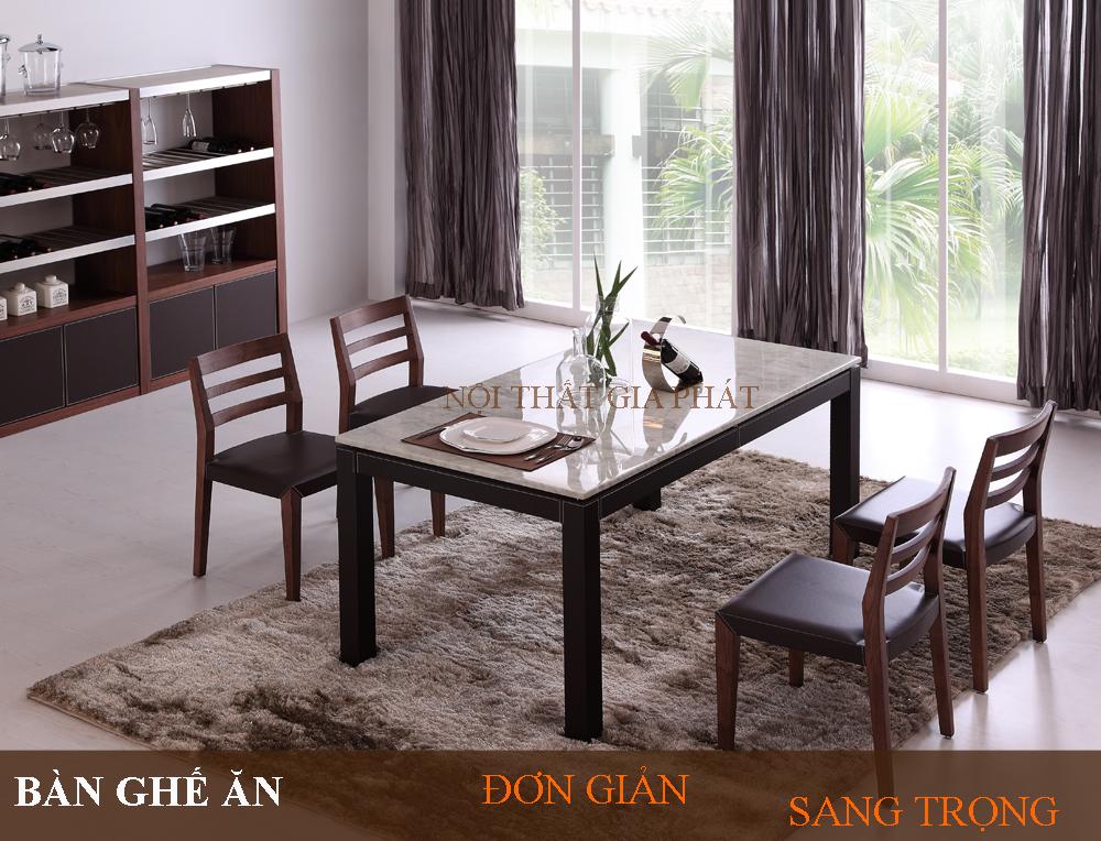 Những mẫu thiết kế bàn ghế ăn: