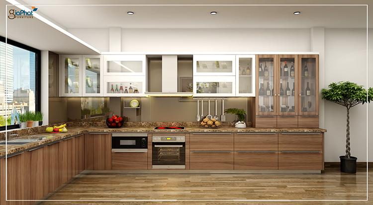Tủ bếp cao cấp GP-TB004