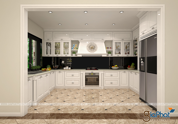 Tủ bếp cao cấp GP-TB008