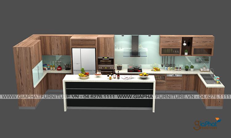 Tủ bếp cao cấp GP-TB003