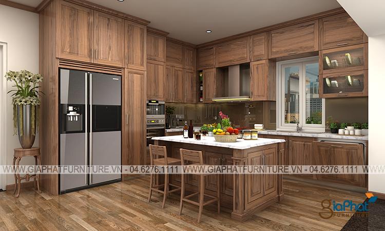 Tủ bếp cao cấp  GP-TB007