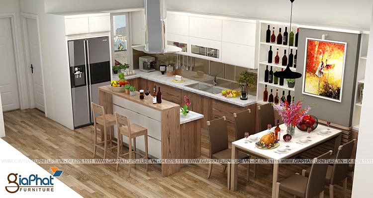 Tủ bếp GP-TB010