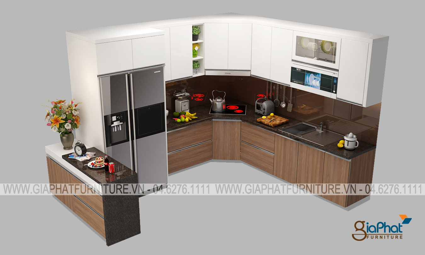 Tủ bếp cao cấp  GP-TB002