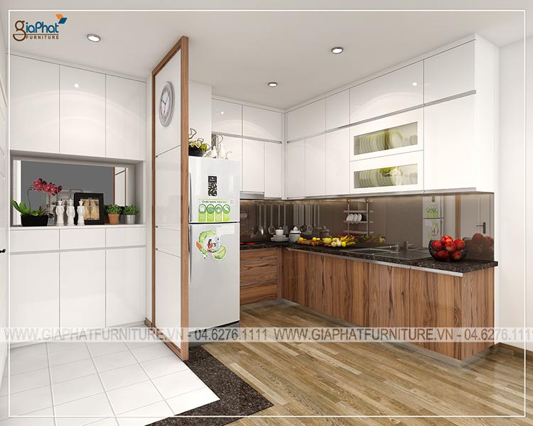 Tủ bếp cao cấp  GP-TB009
