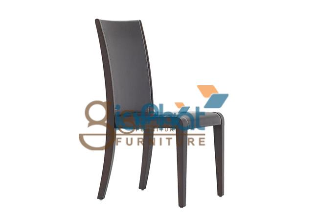 Ghế ăn gỗ bọc da - B05