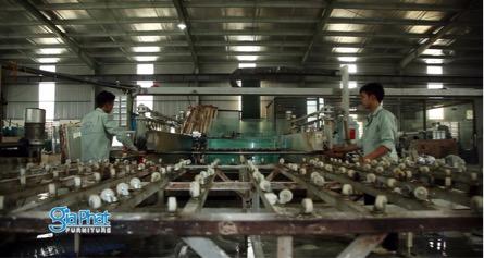 Giới thiệu xưởng sản xuất của Gia Phát Valencasa